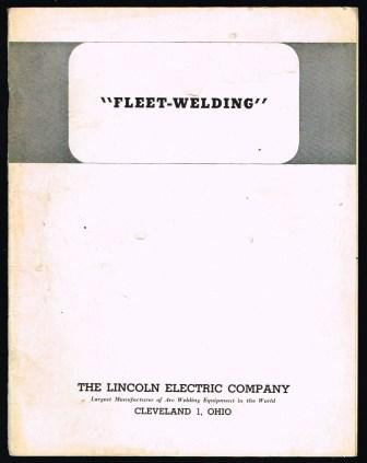 Image for 'Fleet-Welding'; Bulletin 440, 1947