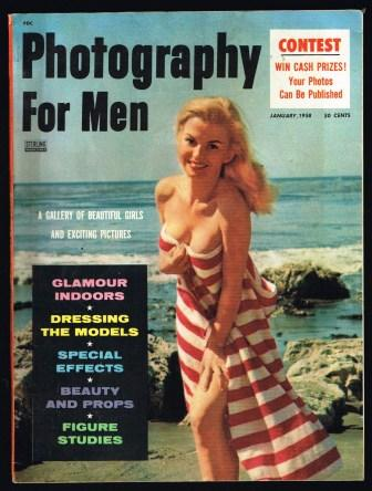 Image for Photography for Men; January, 1958