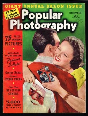 Image for Popular Photography, Including Amateur Cinematography, December, 1940