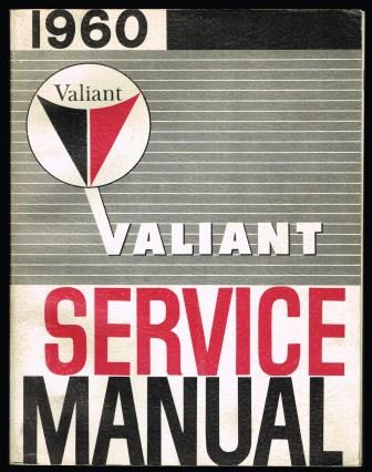 Image for 1960 Valiant Service Manual