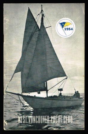 Image for West Vancouver Yacht Club Year Book, 1954