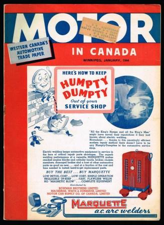 Image for Motor in Canada, Western Canada's Automotive Trade Paper: January, 1944