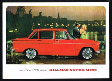 Image for Powerful New '1725' Engine Hillman Super Minx