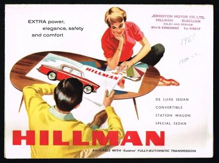 Image for Hillman [1961]