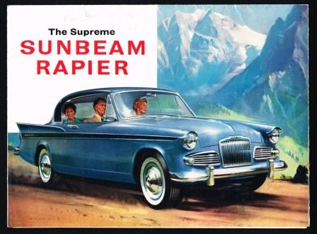 Image for The Supreme Sunbeam Rapier [1961