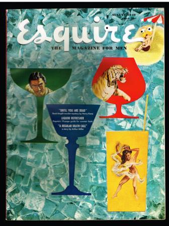 Image for Esquire; the Magazine for Men; August, 1949