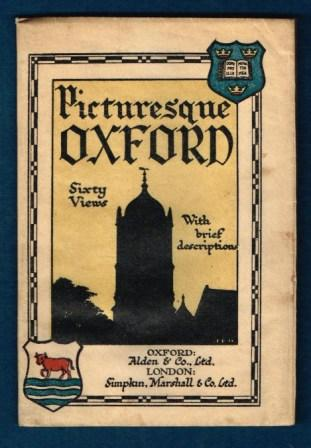 Image for Picturesque Oxford; Sixty Reproductions of Photographs with Brief Desciptions