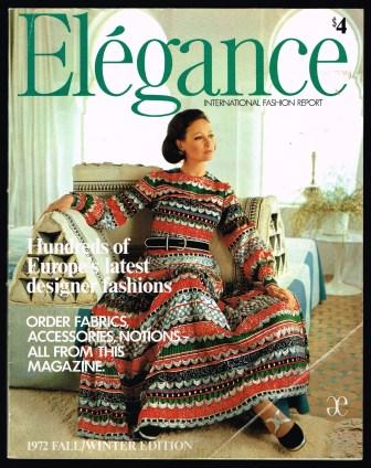 Elegance; 1972 Fall/Winter Edition