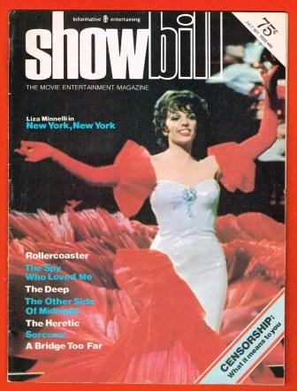 Image for Showbill, The Movie Entertainment Magzine; July 1977