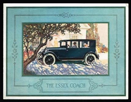 Image for The Essex Coach; 1924