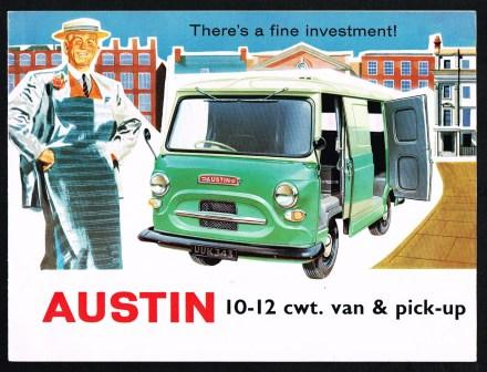 Image for Austin 10-12 Cwt. Van & Pick-up; There's a Fine Investment!