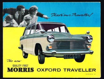 Image for The New Quality First Morris Oxford Traveller, Series VI, 1962