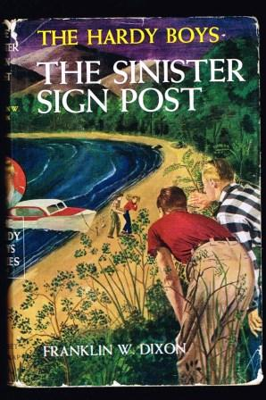 Image for The Sinister Sign Post; Hardy Boys Mystery Stories No. 15