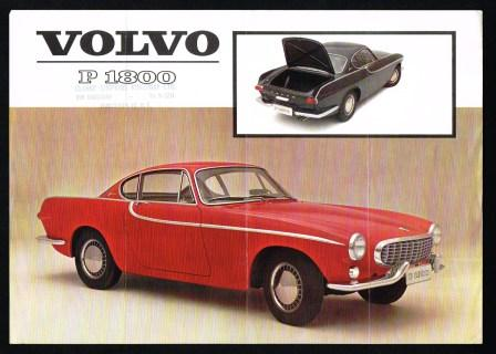 Image for Volvo P 1800: 1962 Auto Sales Literature