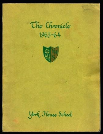 Image for The Chronicle; York House School 1963-64