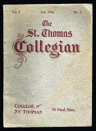 Image for The St. Thomas Collegian: July, 1906