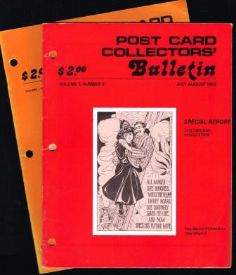 Image for Post Card Collectors' Bulletin; Lot of Two Issues