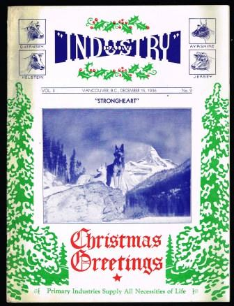 Image for Industry: A Monthly Magazine, December 15, 1936