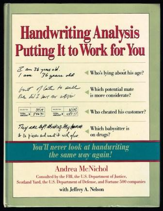 Image for Handwriting Analysis: Putting It to Work for You