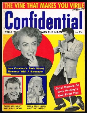 Image for Confidential; January, 1957