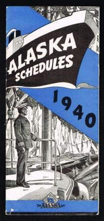 Image for Alaska Schedules, 1940