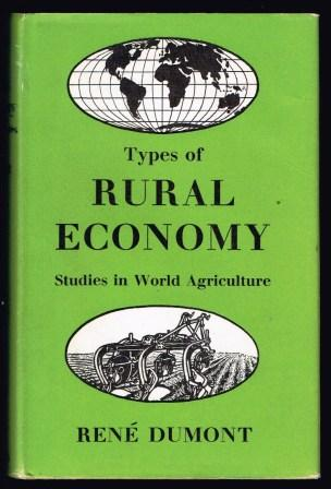 Image for Types of Rural Economy; Studies in World Agriculture