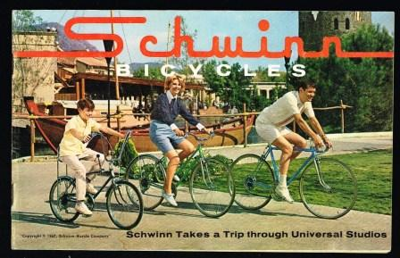 Image for Schwinn Bicycles: Schwinn Takes a Trip Through Universal Studios, 1967 Catalog