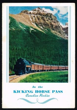 Image for The Mountie;  Cafe Car Service Menu, 1946