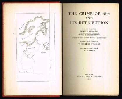 Image for The crime of 1812 and its Retribution