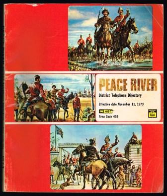 Image for Peace River District Telephone Directory