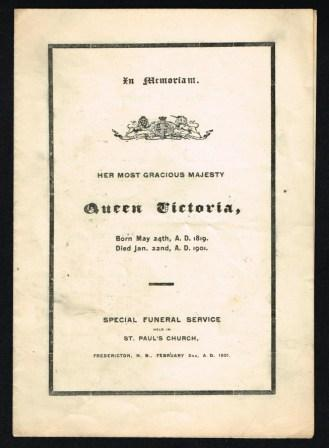 Image for In Memorium; Her Most Gracious Majesty Queen Victoria, 1819-1901