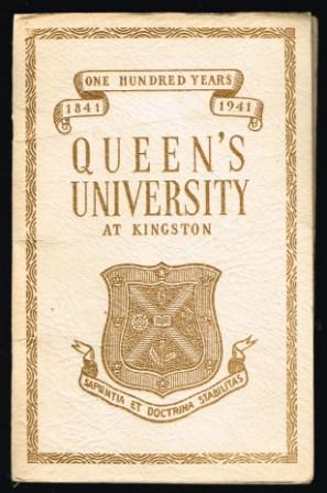 Image for Queen's University at Kingston, 1841-1941 : [centenary booklet].