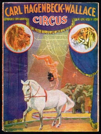 Image for Carl Hagenbeck-Wallace Circus Program, Season 1921
