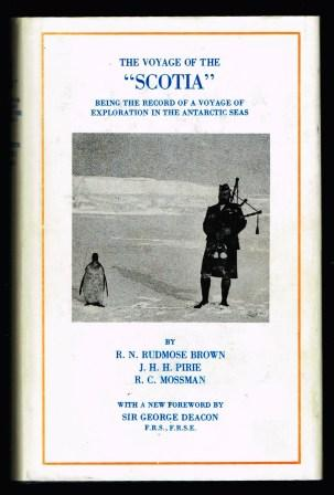 "Image for The voyage of the ""Scotia"" : being the record of a voyage of exploration in Antarctic Seas"