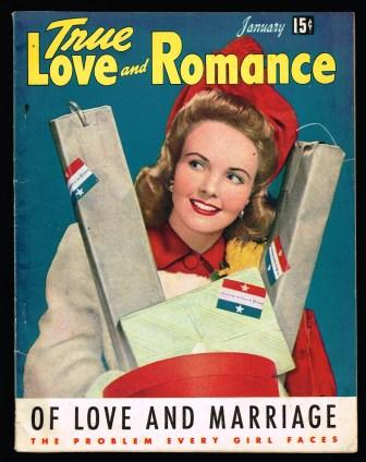 Image for True Love and Romance; January 1943