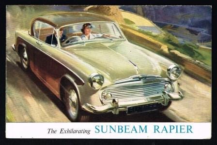 Image for The Exhilarating New Sunbeam Rapier [1957]