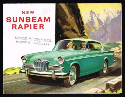 Image for New Sunbeam Rapier [1960]