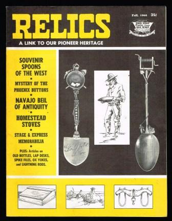 Image for Relics: A Link to Our Pioneer Heritage - Fall, 1968