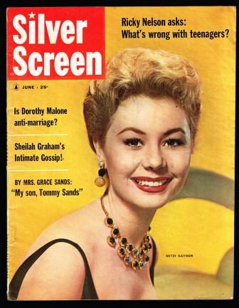 Image for Silver Screen: June, 1958