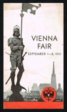 Image for Vienna Autumn Fair Sept. 1-8, 1935