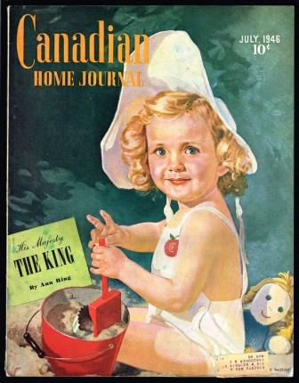 Image for Canadian Home Journal; July, 1946