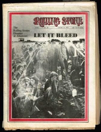 Image for Rolling Stone Magazine: Issue No. 5, January 21, 1971