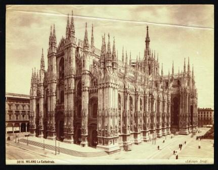 Image for Photograph of Milan Cathedral, circa 1870s