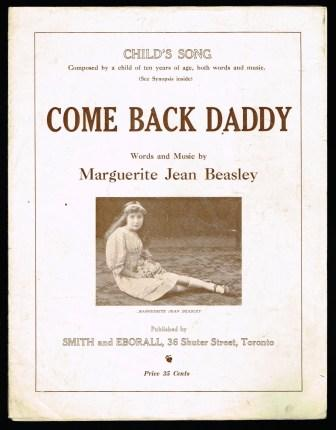 Image for Come Back Daddy