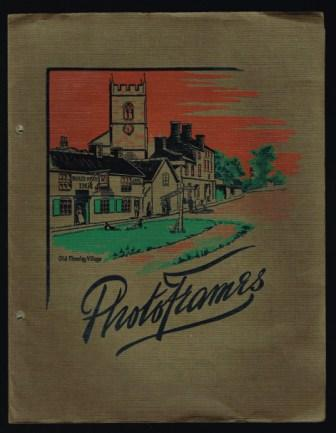 Image for Photoframes: Trade Catalog, 1933