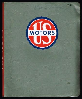Image for U. S. Motors: Folder of Electric Motors Trade Catalogs, 1963