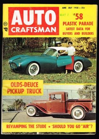 Image for Auto Craftsman; June-July, 1958