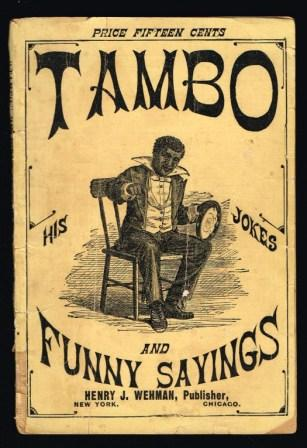 Image for Tambo : His Jokes and Funny Sayings : With Which is Incorporated Hints to the Amateur Minstrel