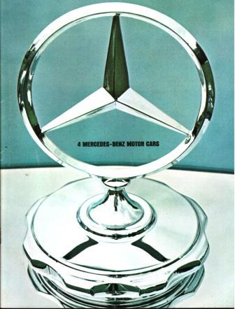 Image for Four Mercedes-Benz Motor Cars: 1965 Sales Literature