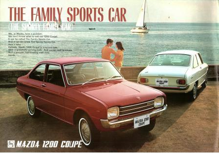 Image for Mazda 1200 Coupe: Sales Literature, 1968